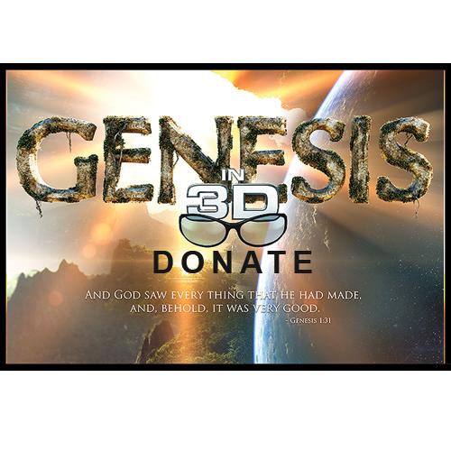 Genesis 3D Movie Donation