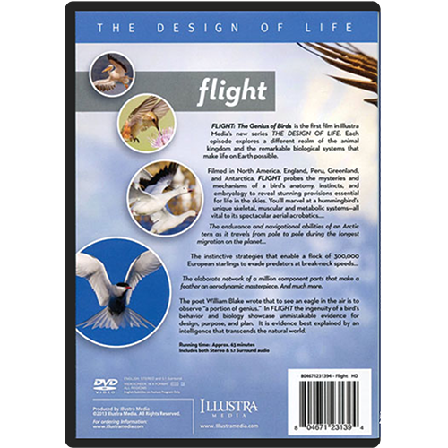 Flight: The Genius of Birds DVD back