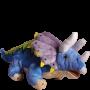 "Triceratops Plush 12"" Dinosaur"