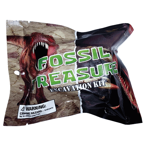 Fossil Treasure Excavation Kit - Dino Claw