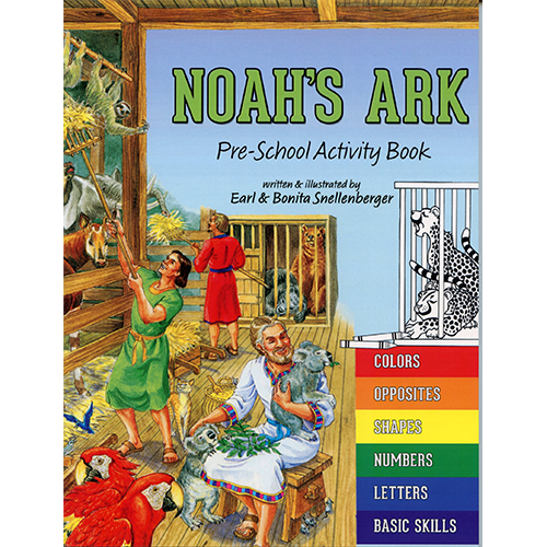 Noah's Ark Preschool Activity Book