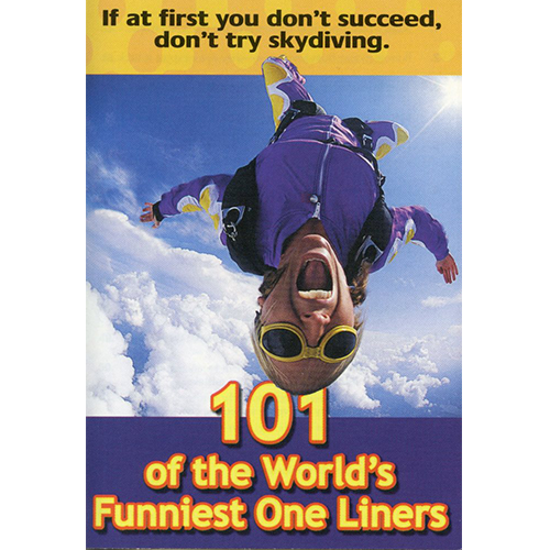 101 of the World's Funniest One Liners Tract