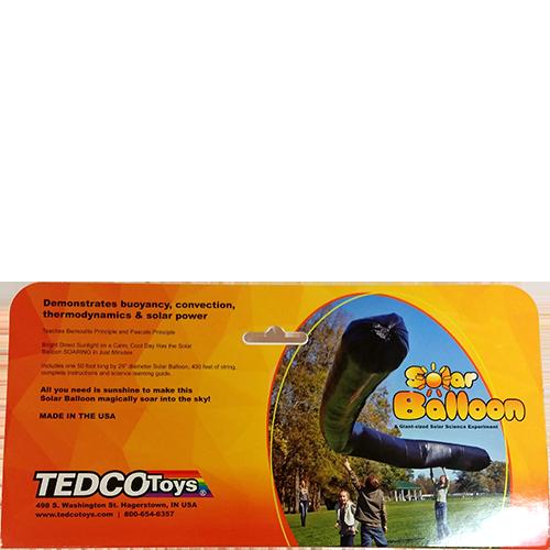 Solar Balloon Back