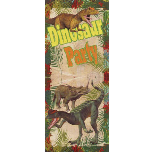 Dinosaur Party Banners 2