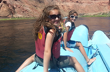 Grand Canyon 2015 Kids Rafting