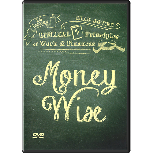 Money Wise: Biblical Principles of Work & Finances DVD