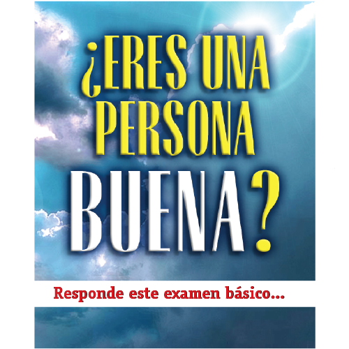 Are you a Good Person Tract Spanish