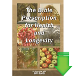 The Bible Prescription for Health and Longevity eBook (PDF)