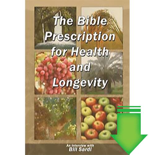The Bible Prescription for Health and Longevity eBook (PDF)