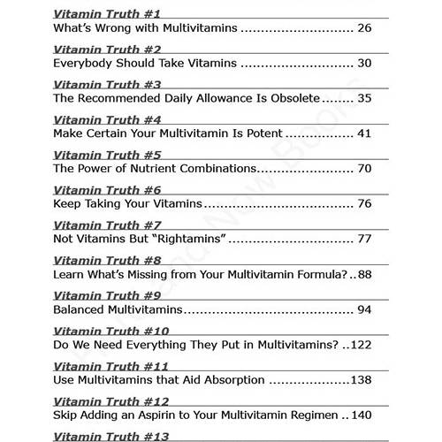 The New Truth About Vitamins & Minerals eBook (PDF) read inside