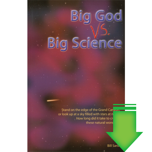 Big God vs. Big Science eBook (PDF)