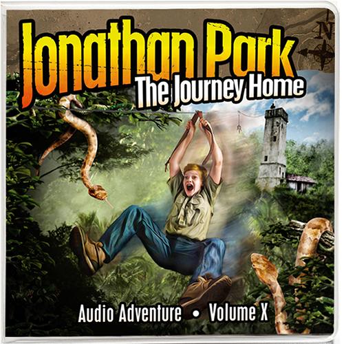 Jonathan Park Album 10: The Journey Home Audio Adventure