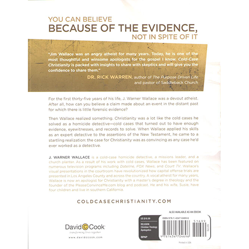 Cold-Case Christianity back