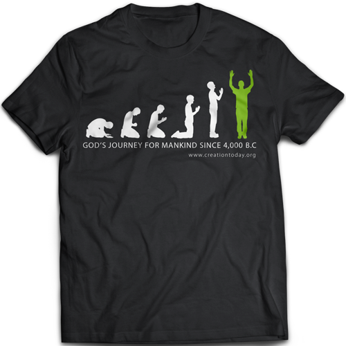 God's Journey for Mankind T-Shirt