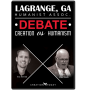 LaGrange, GA Humanist Assoc. Debate: Creation vs Humanism