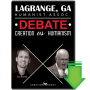 LaGrange, GA Humanist Assoc. Debate: Creation vs Humanism (Video Download)
