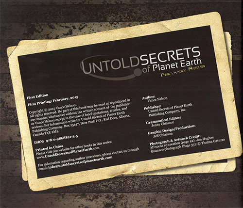 Untold Secrets of Planet Earth: Amazon Expedition read-inside