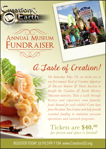 Creation Museum fundraiser