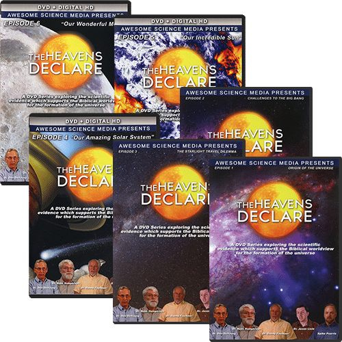 The Heavens Declare Package (6 DVD Set)