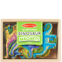 20 Wooden Dinosaur Magnets