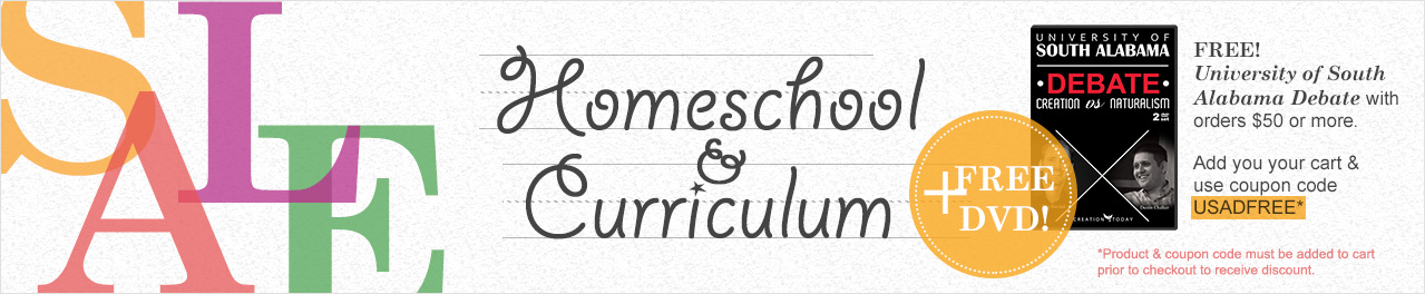 Homeschool & Curriculum Sale Plus Free DVD