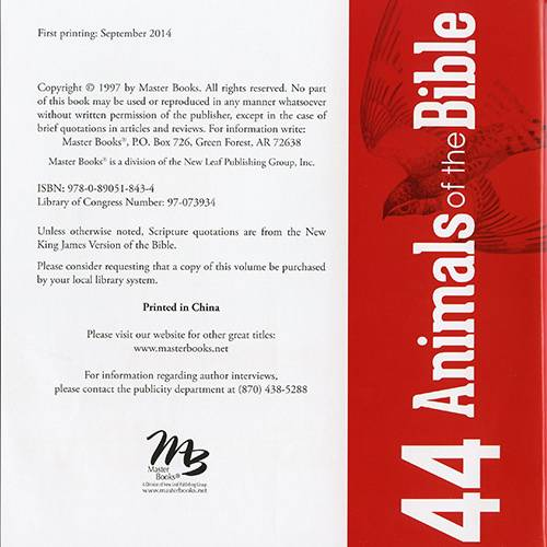 44 Animals of the Bible read-inside