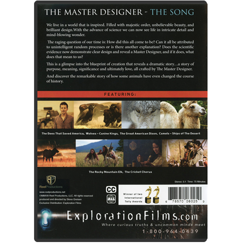 The Master Designer: The Song DVD back