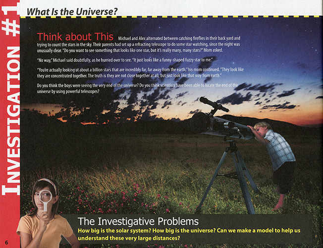 The Universe: From Comets to Constellations read inside