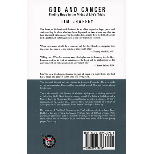 God and Cancer: Finding Hope in the Midst of Life's Trials back