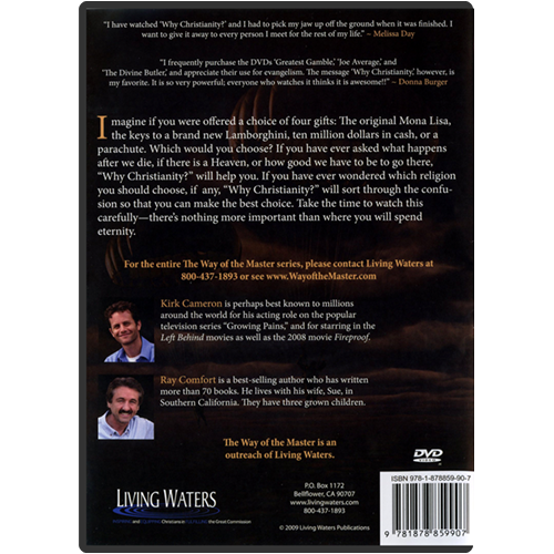 Why Christianity? DVD back