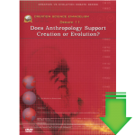 Debate #11 - Does Anthropology Support ...? (Video Download)