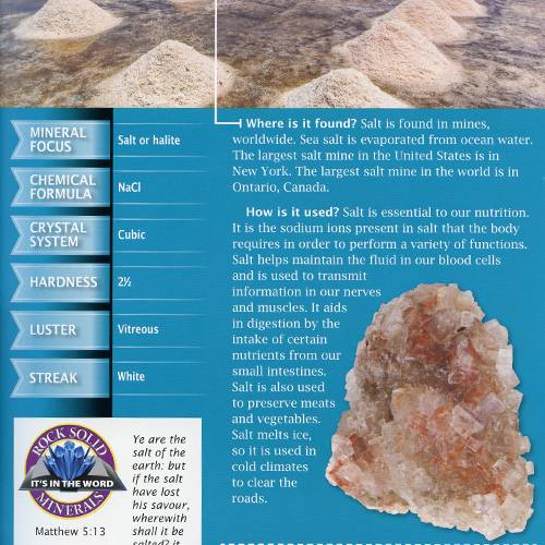 The Mineral Book read inside