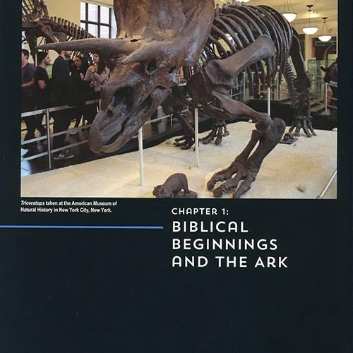 Dinosaurs: Marvels of God's Design read inside