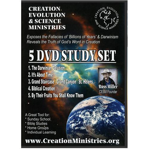 Russ Miller's 5 DVD Study Set