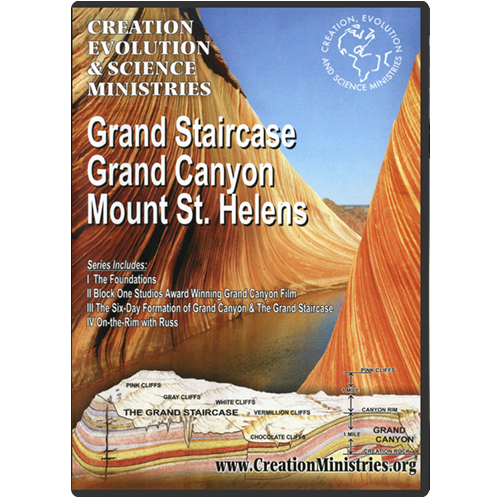 Grand Staircase, Grand Canyon & Mt St Helens DVD
