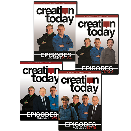 The Creation Today Show: Season 1 DVD Package