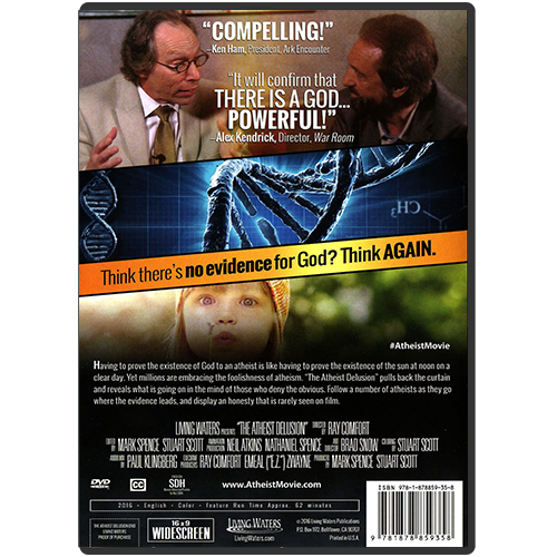 The Atheist Delusion DVD back