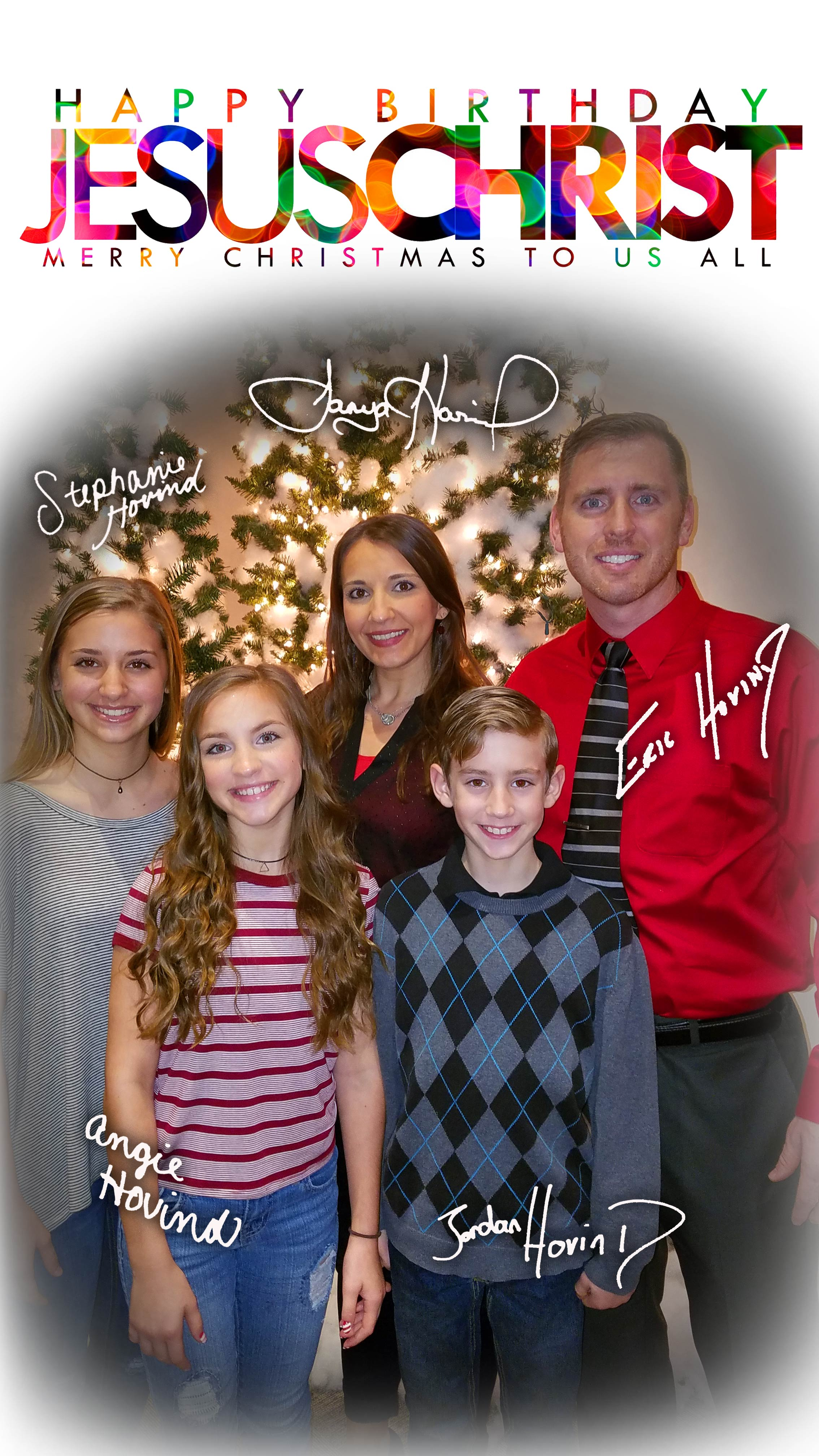 Merry Christmas 2016 from the Hovind Family | Creation Today
