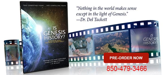 Is Genesis History DVD?