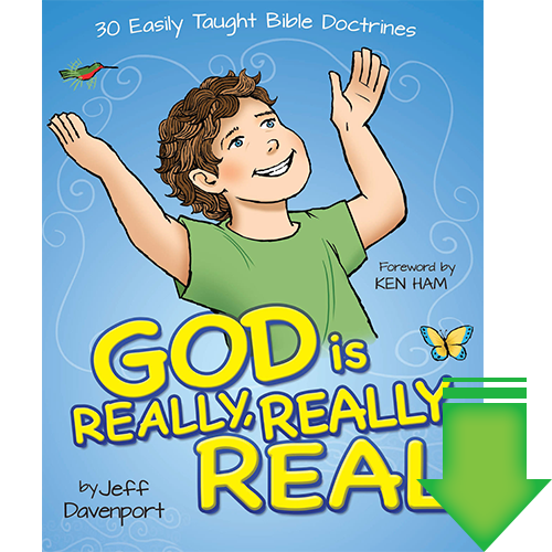 God is Really, Really Real eBook (PDF)