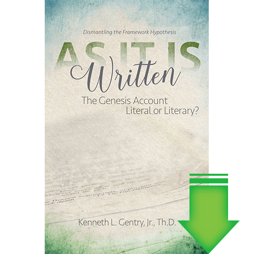 As it is Written: The Genesis Account Literal or Literary eBook (MOBI, PDF)