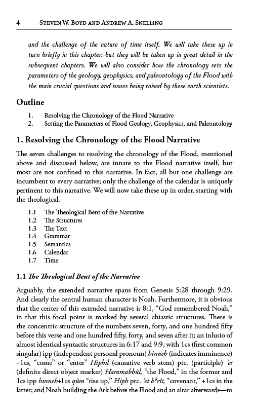 Grappling with the Chronology of the Genesis Flood eBook (PDF) inside