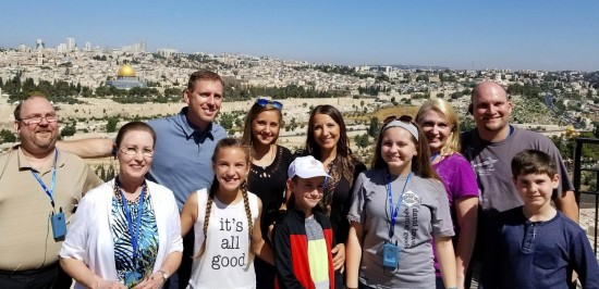Hovind family in Israel
