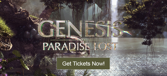 Genesis: Paradise Lost - Get Tickets NOW