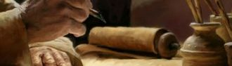 parchment writing