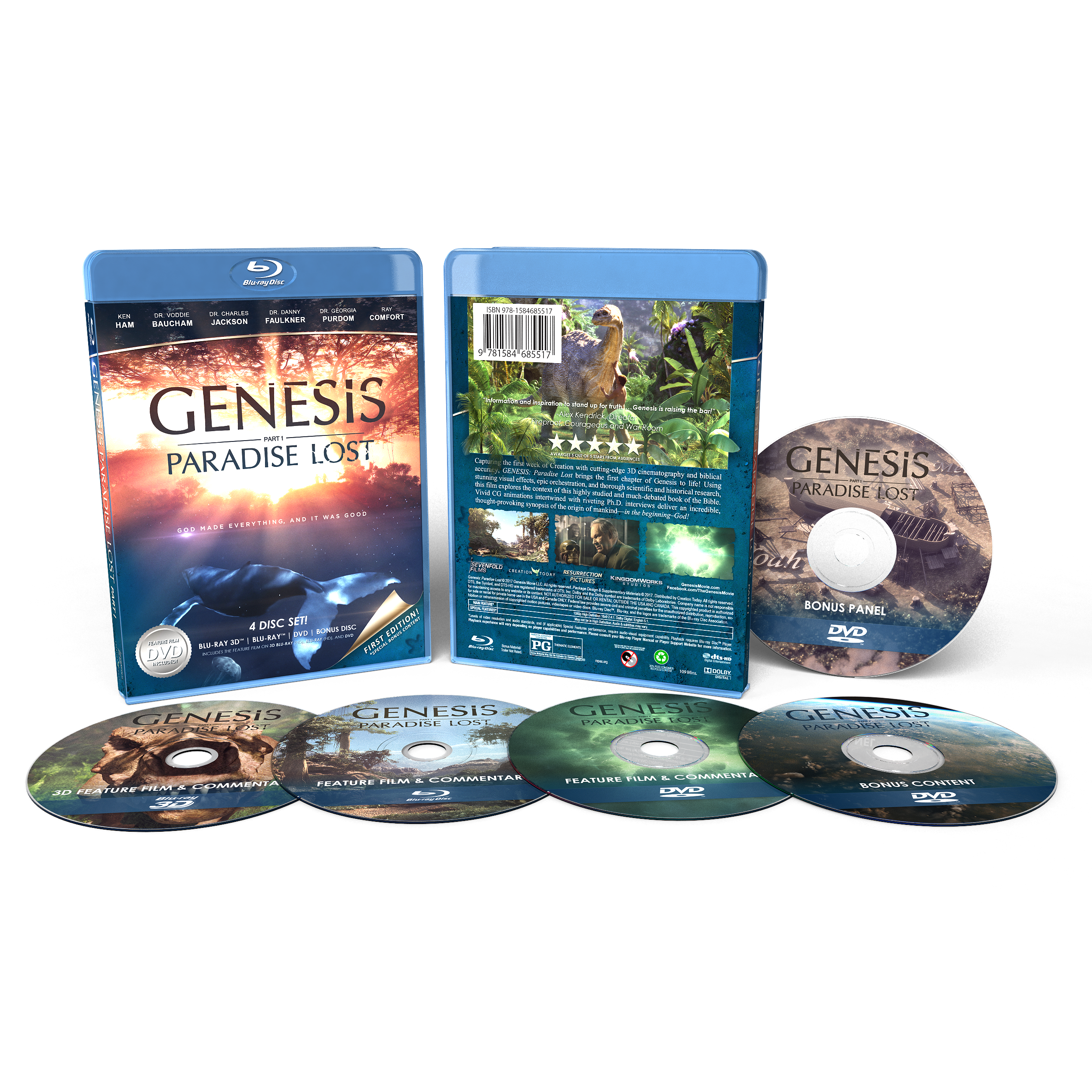 Genesis: Paradise Lost Blu Ray Bundle