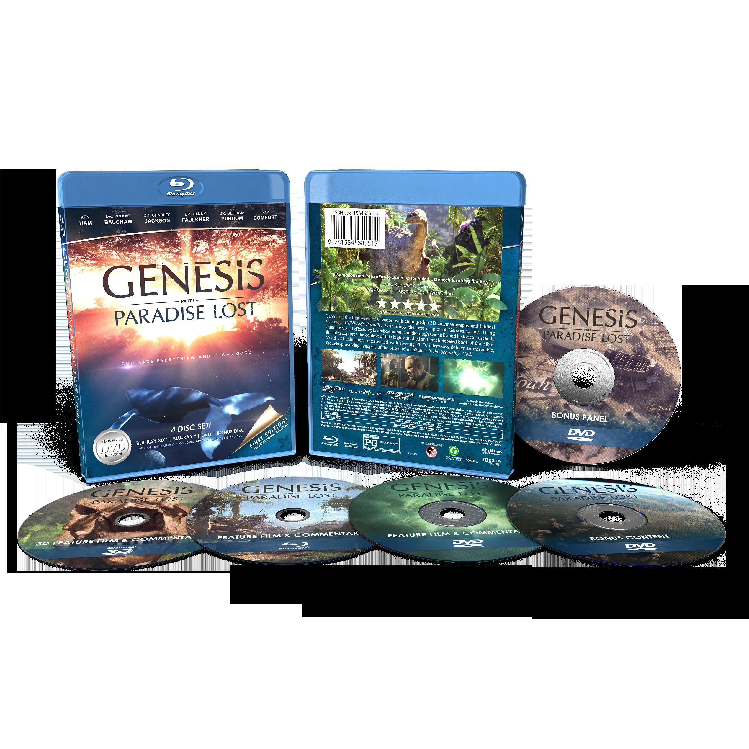Genesis: Paradise Lost Blu Ray Bundle