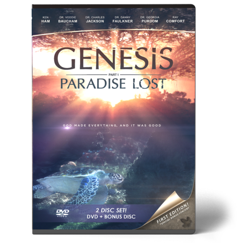 Genesis: Paradise Lost DVD Front
