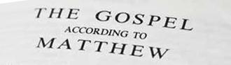 Genealogies in Matthew