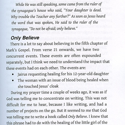 Only Believe: The Easy Guide to Presuppositional Apologetics read inside